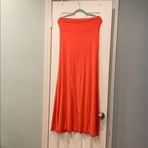 Convertible maxi skirt - dress